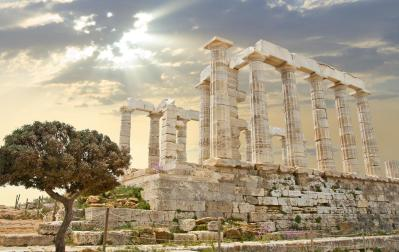 Храм в греции