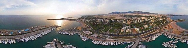курорт в греции