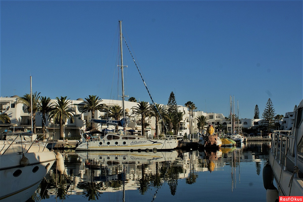 город Ссус в Тунисе