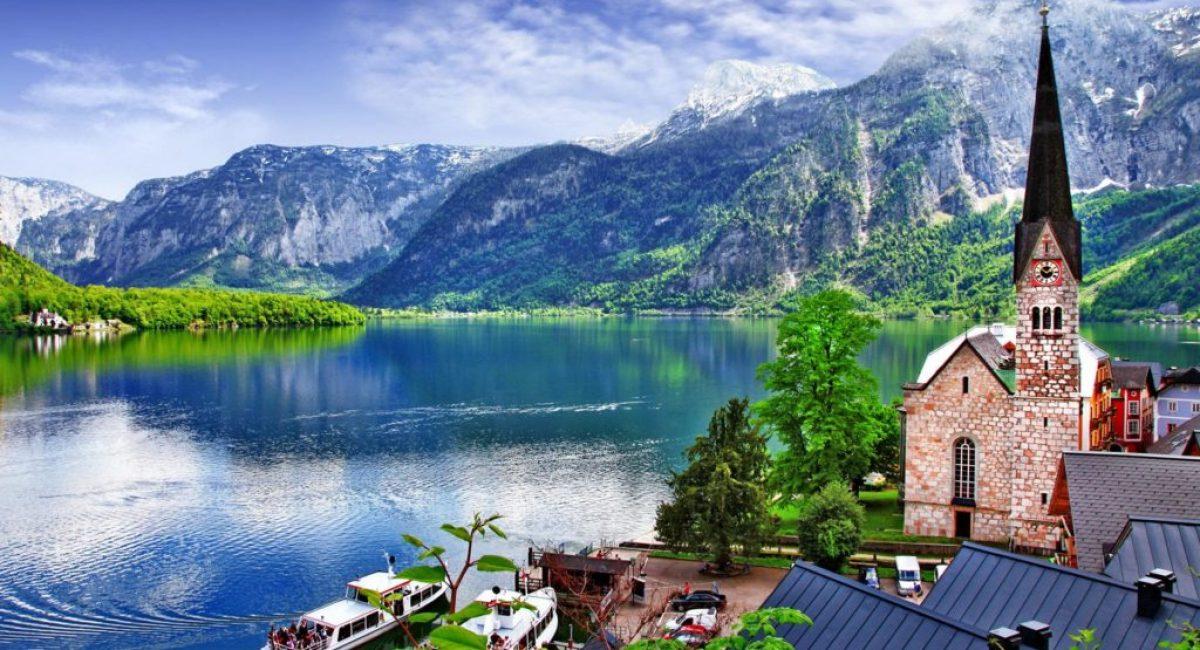 Озеро в Австрии