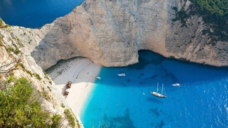 Романтический отдых в Греции
